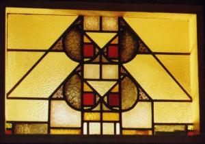 Glas-in-lood raam